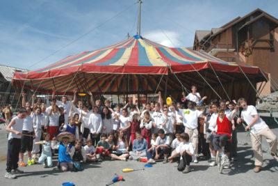 Arts du cirque – Valmeinier